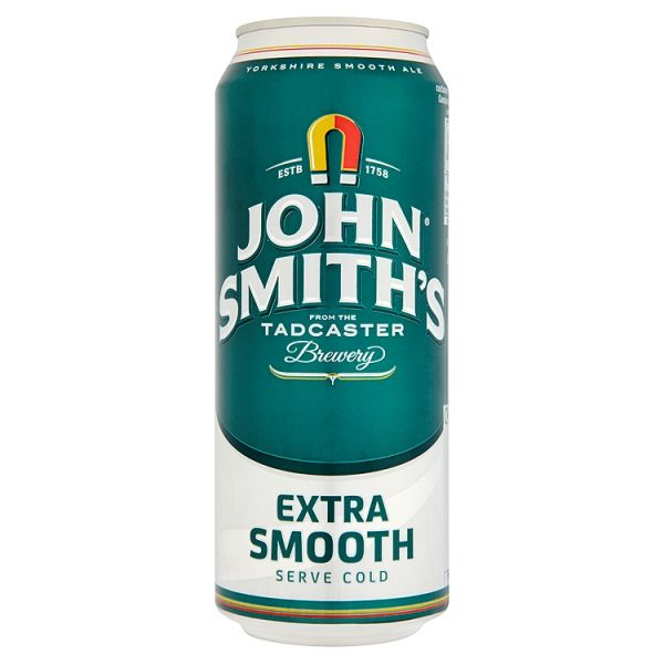 John Smith's Extra Smooth 24 x 400ml cans