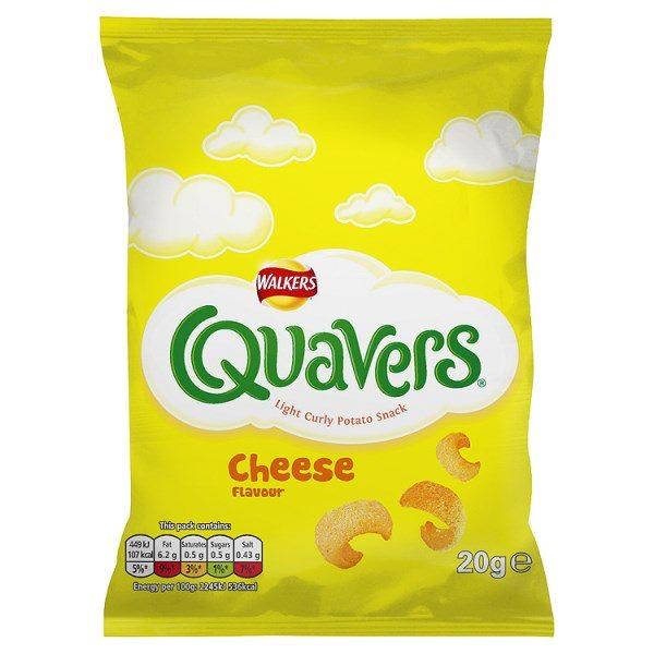 Walkers Quavers Cheese Snacks