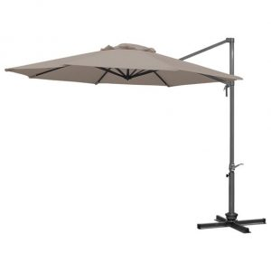 3m Round Ascot Cantilever Parasol - Taupe