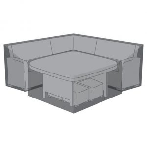 Cover For Deluxe Cambridge Corner Dining Set