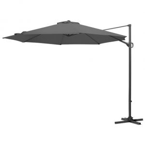 3m Round Provance Cantilever Parasol - Grey
