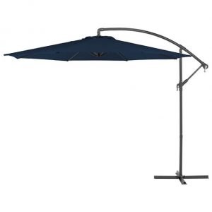 3m Round Basic Cantilever Parasol - Navy