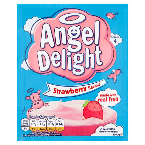 strawberry angel delight