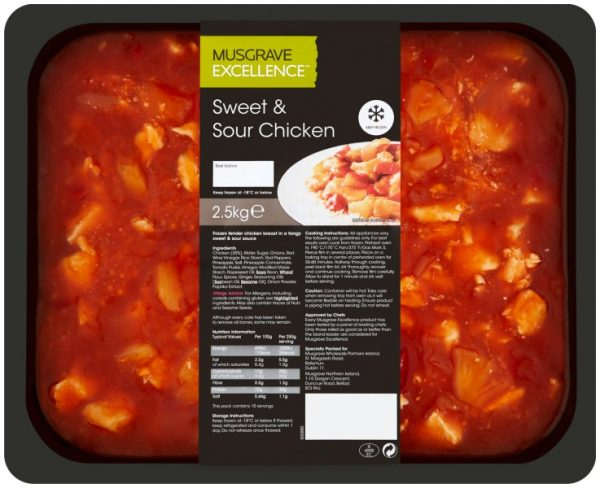 Musgrave sweet and sour chicken