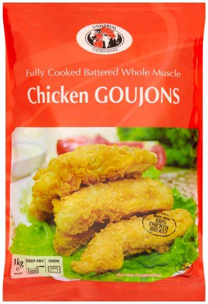 Universal Chicken battered Goujons